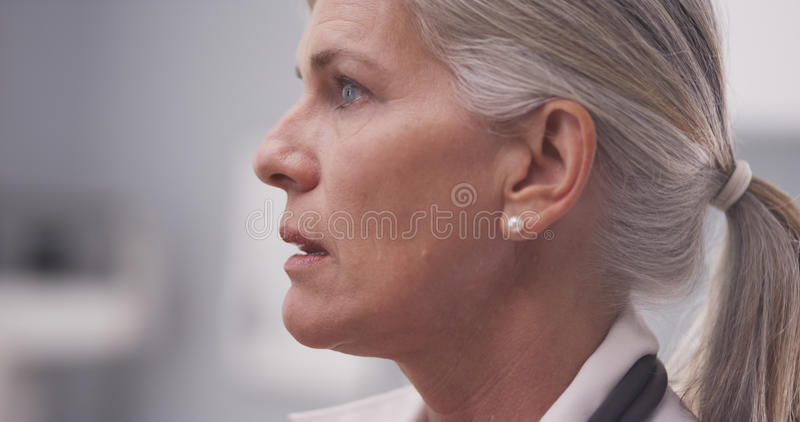 Portrait of female medical doctor royalty free stock photography