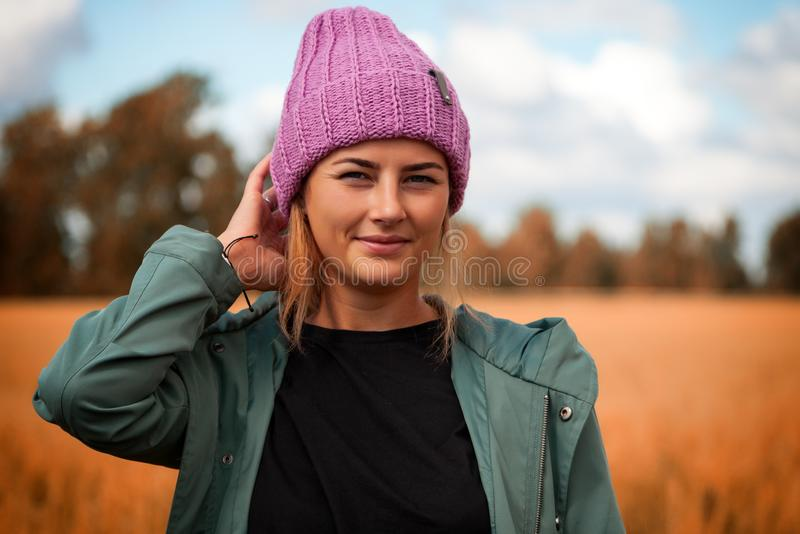 Portrait female student royalty free stock images