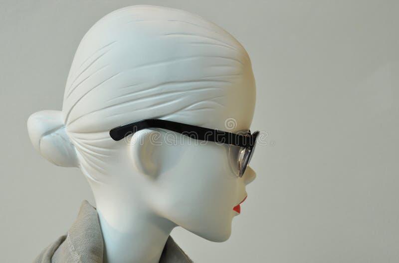 Portrait femelle de plat de mode images libres de droits