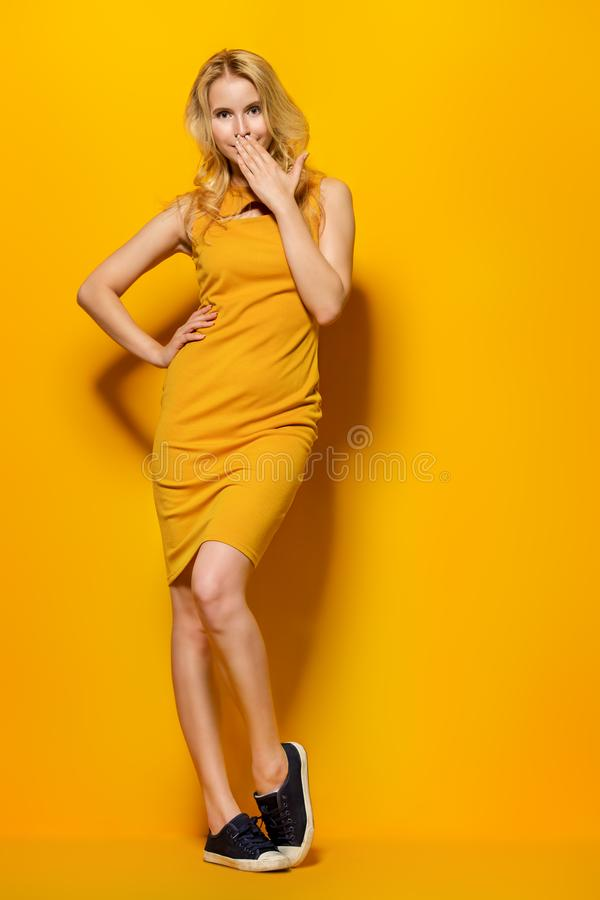 Portrait femelle intégral photos stock