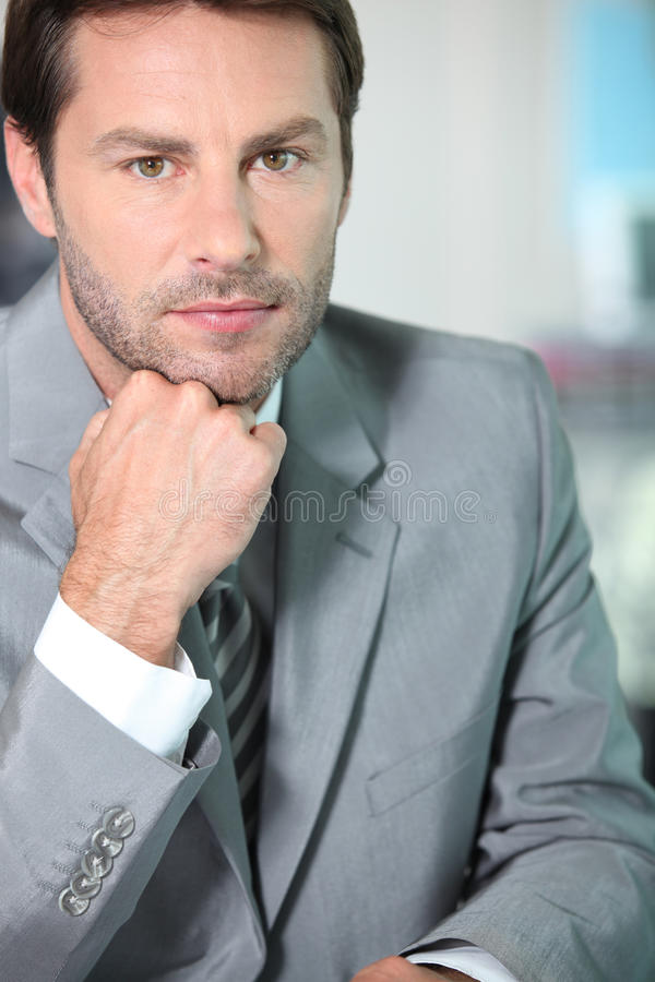 Download Portrait Of A Financial Consultant Stock Image - Image: 22919775
