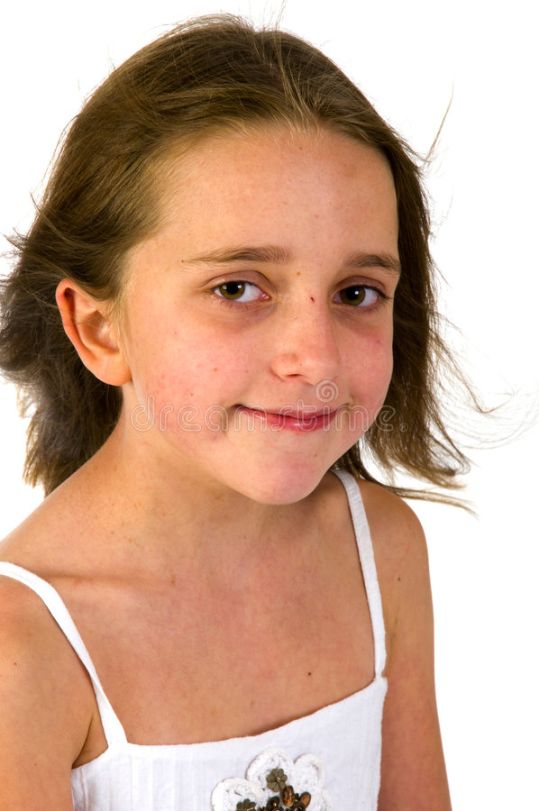 Download Portrait Of A Friendly Girl Stock Image - Image: 7522671