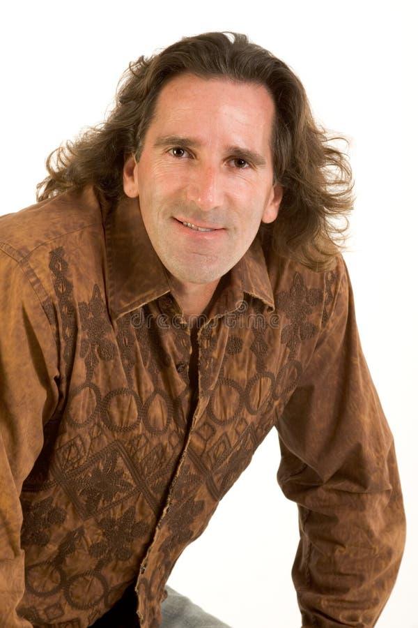 Portrait Of Friendly Man Stock Images