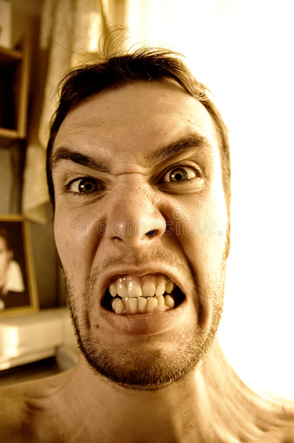 Download Portrait of a funny guy stock photo. Image of crazy, look - 2503272