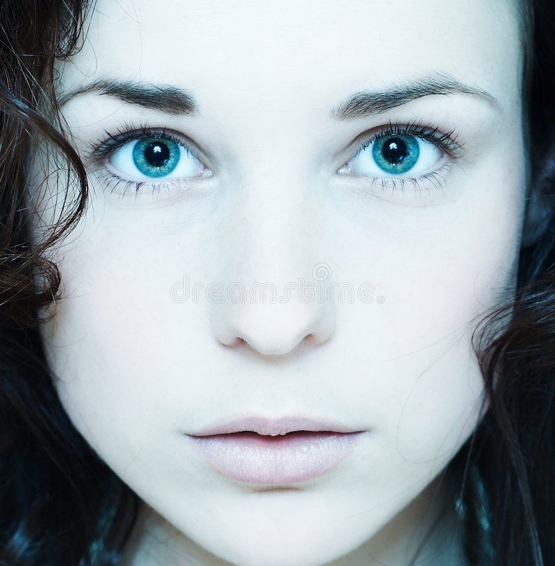Portrait of a gentle girl2 royalty free stock image