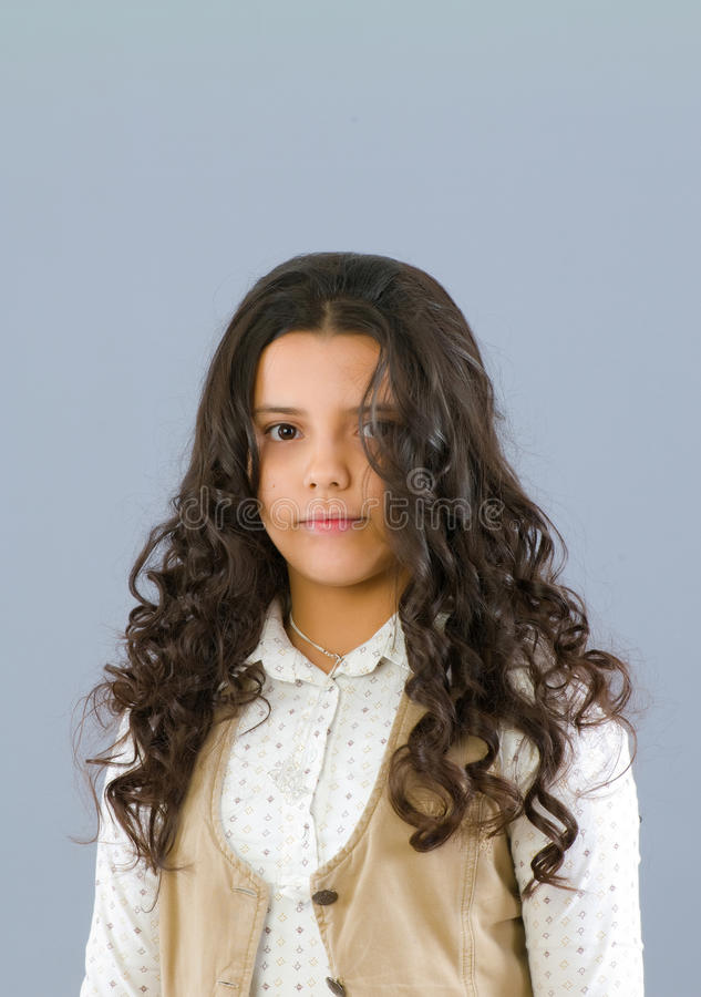 Download Portrait of the  girl stock photo. Image of expression - 12170248