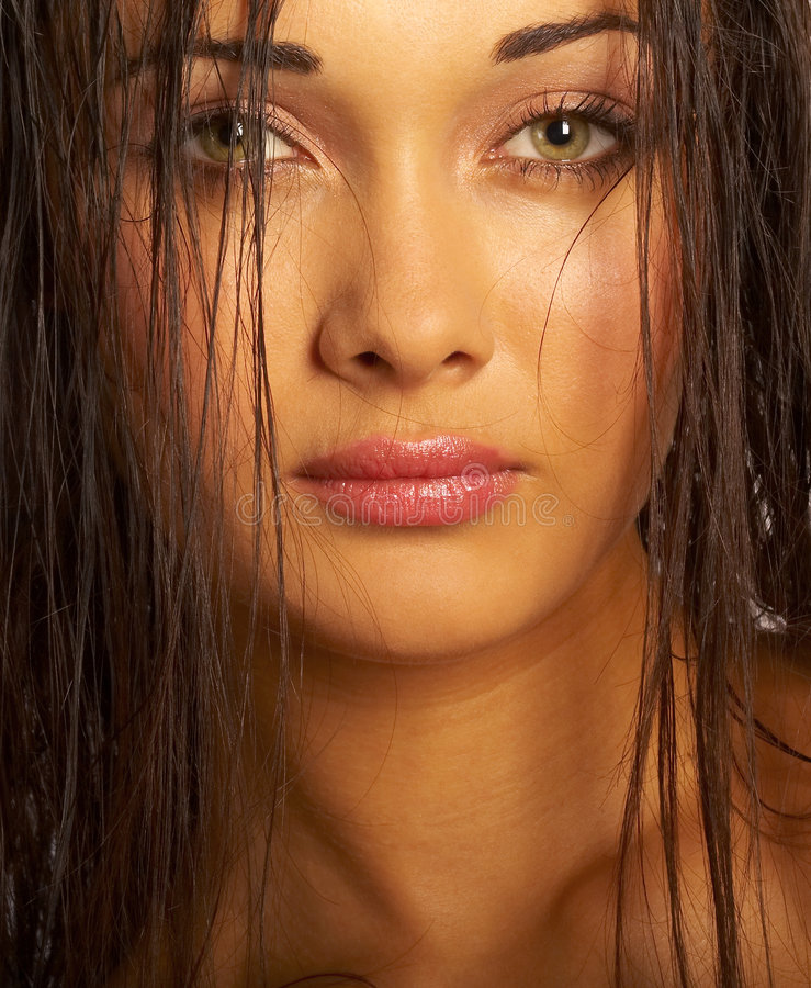Download Portrait of the girl stock image. Image of look, lady - 1233447