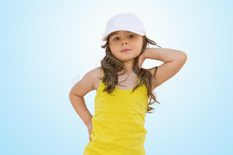 Download Portrait of a girl stock photo. Image of childhood, little - 22700048
