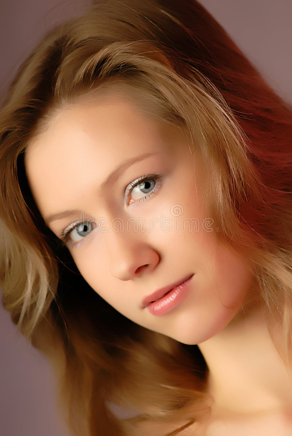 Portrait girl royalty free stock photography