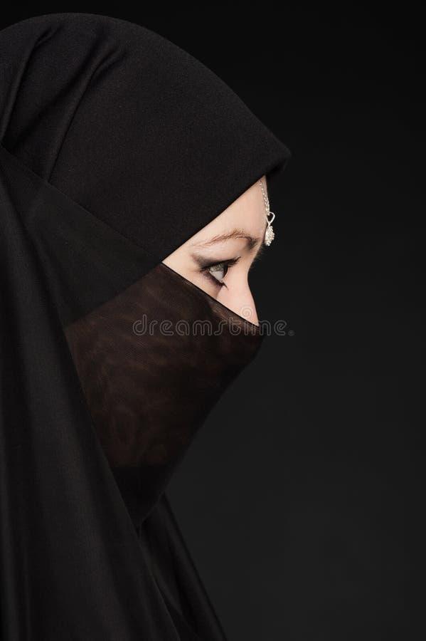 Portrait of a Girl East stock photos