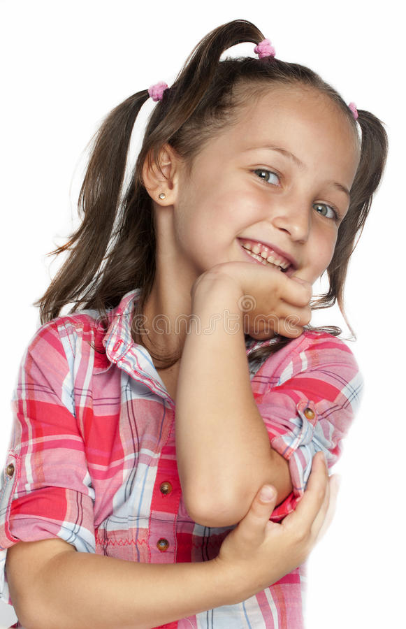 Portrait of girl royalty free stock images