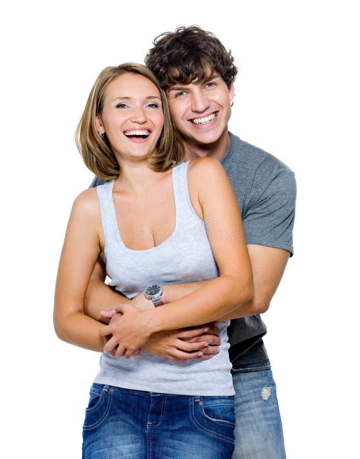 Portrait glücklichen Leute lizenzfreie stockfotos
