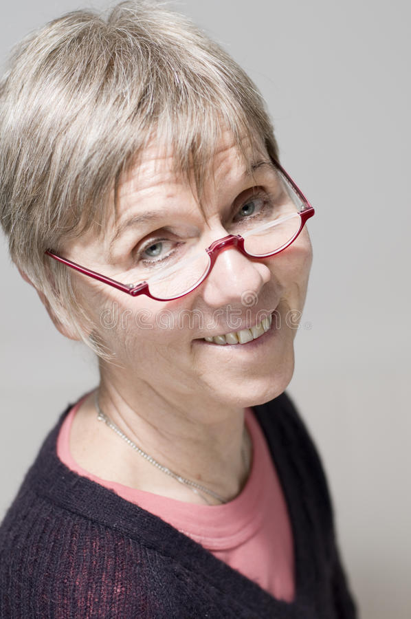 Download Portrait Glasses And Smiling Stock Image - Image: 33534747