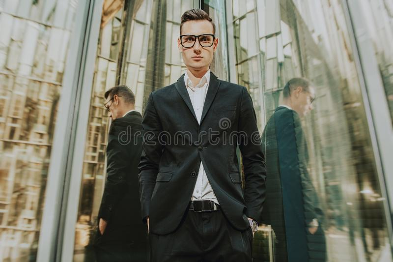 Business for young people stock photos