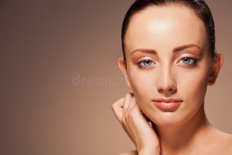 Portrait Of Gorgeous Confident Woman Royalty Free Stock Photos