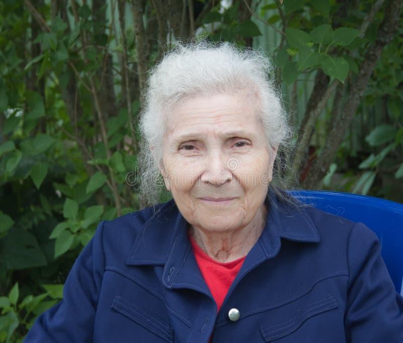 Portrait Of Grandmother Stock Photos