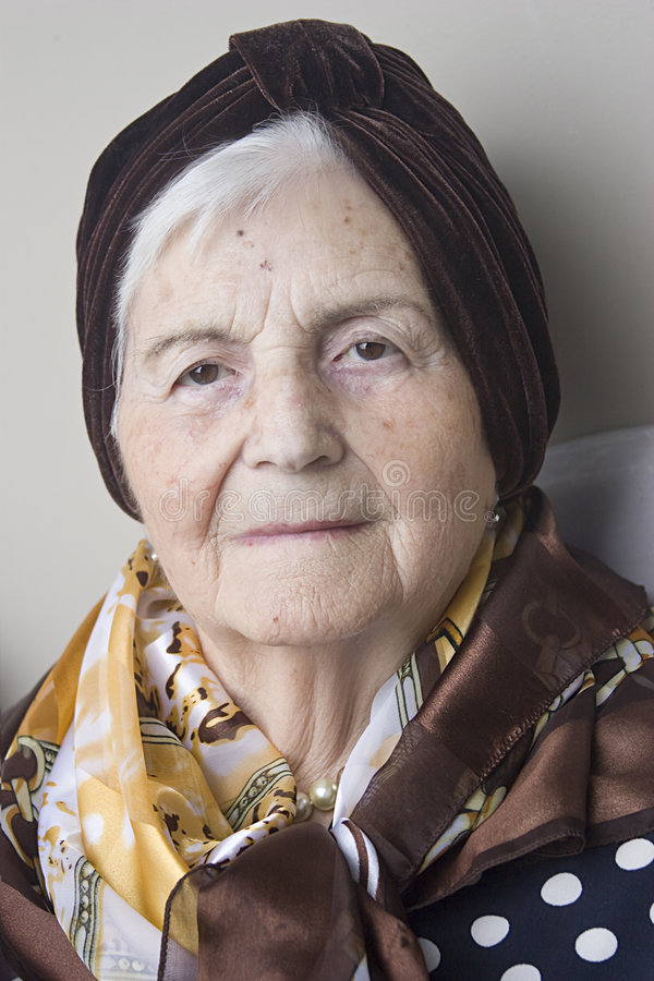 Download Portrait of Grandmother stock photo. Image of portrait - 8323218