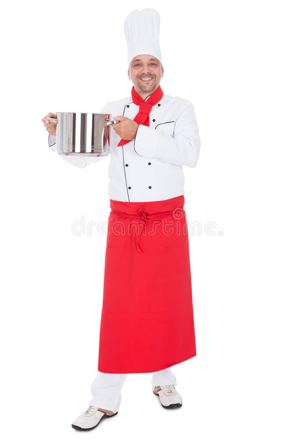 Download Portrait Of A Handsome Cook Stock Photo - Image: 25046928