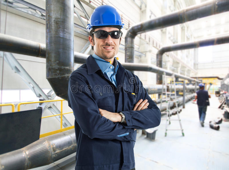Download Portrait Of An Handsome Engineer Stock Photos - Image: 28670223