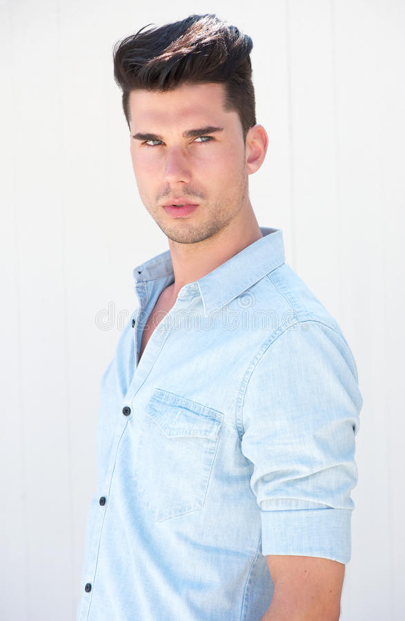 Download Portrait Of A Handsome Male Fashion Model Stock Photo - Image: 33463662
