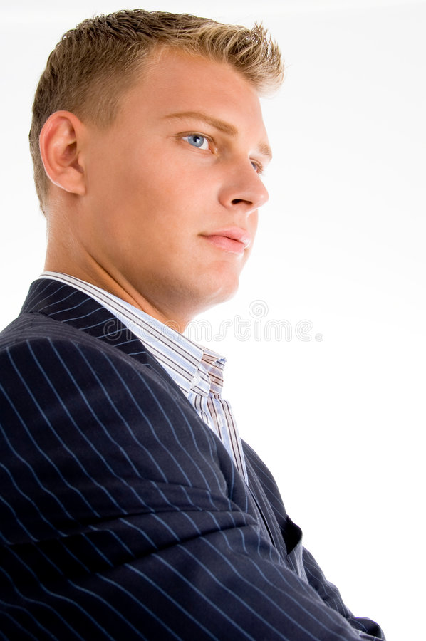 Portrait of handsome man royalty free stock images
