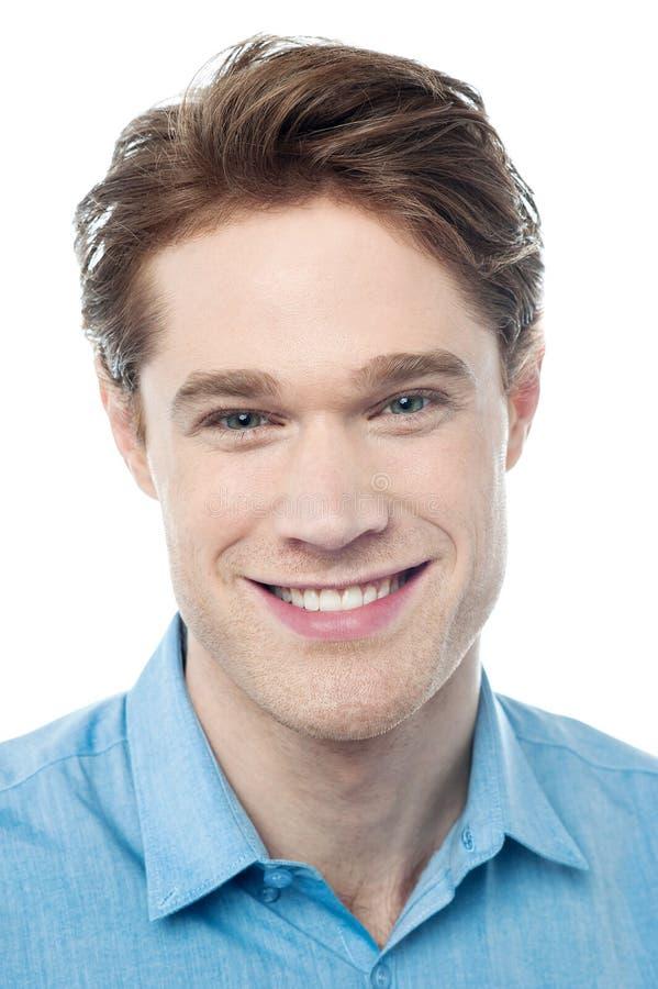 Portrait of a handsome man stock photos