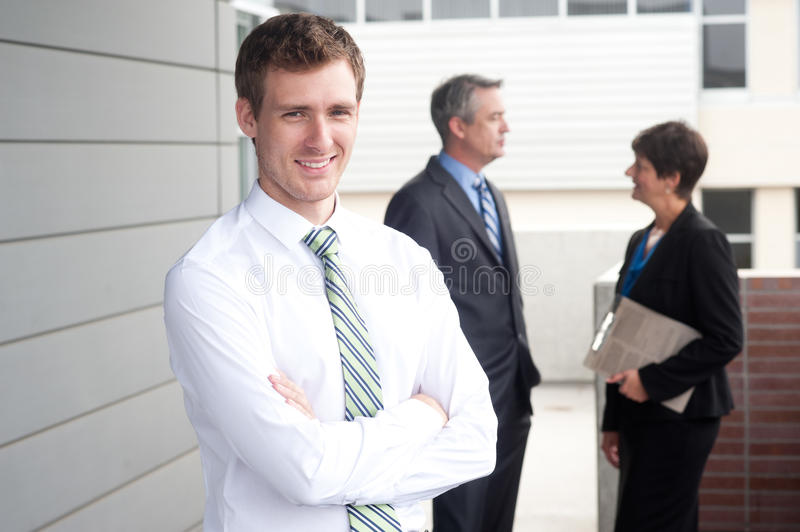 Download Portrait Of A Handsome Young Businessman Stock Photo - Image: 33228916