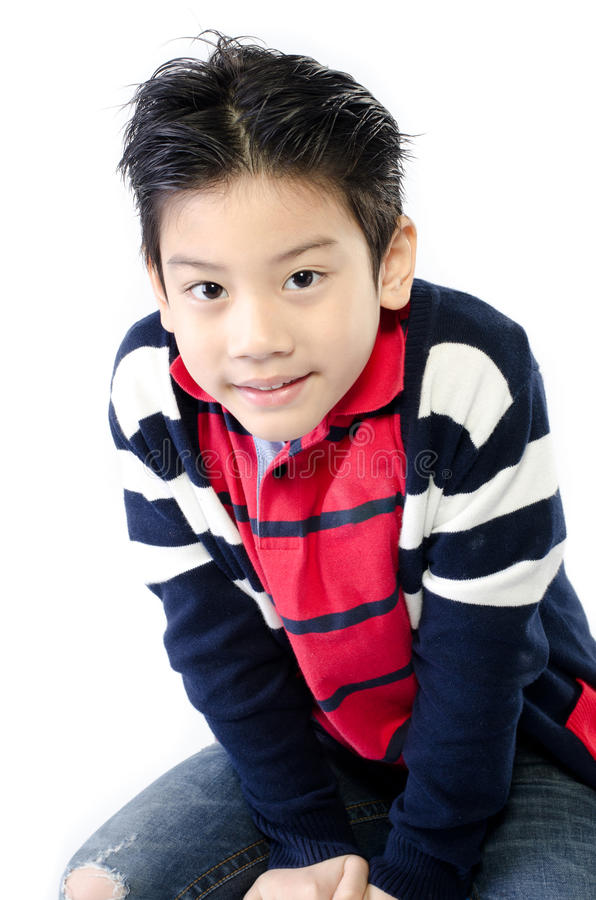 Download Portrait Of Happy Asian Cute Boy Royalty Free Stock Photo - Image: 36400015