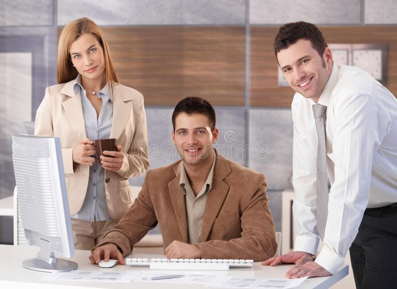 Download Portrait Of Happy Businessteam Royalty Free Stock Photography - Image: 21535227