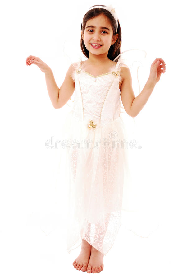 Portrait of happy child royalty free stock photo