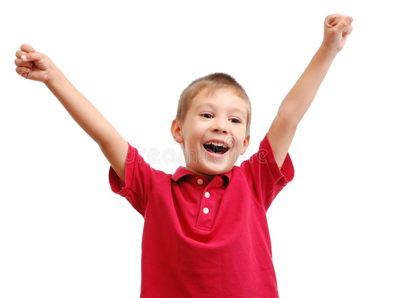Download Portrait of happy child stock image. Image of cheerful - 16842825