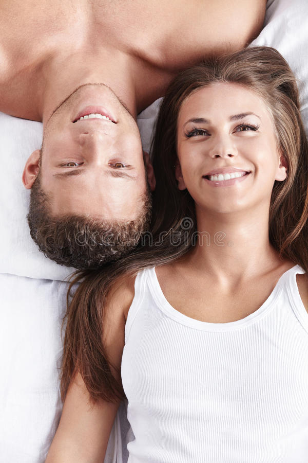 Download Portrait of a happy couple stock photo. Image of smiling - 15592376