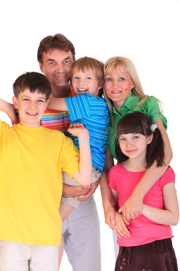 Download Portrait of happy family stock photo. Image of couple - 9664142