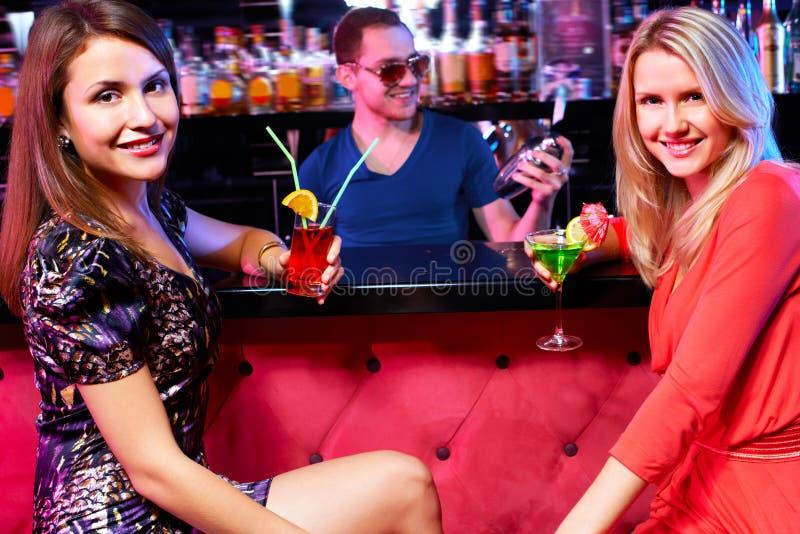 girls in the bar