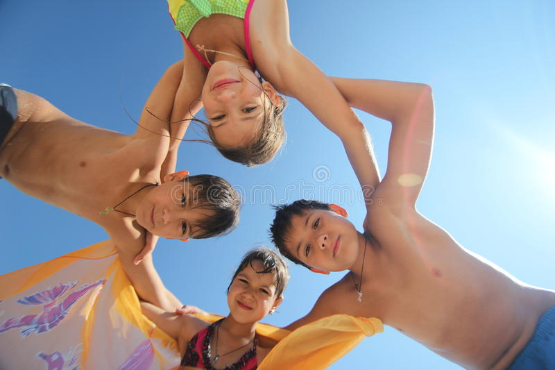 Download Happy kids stock photo. Image of caucasian, casual, cheerful - 30137840