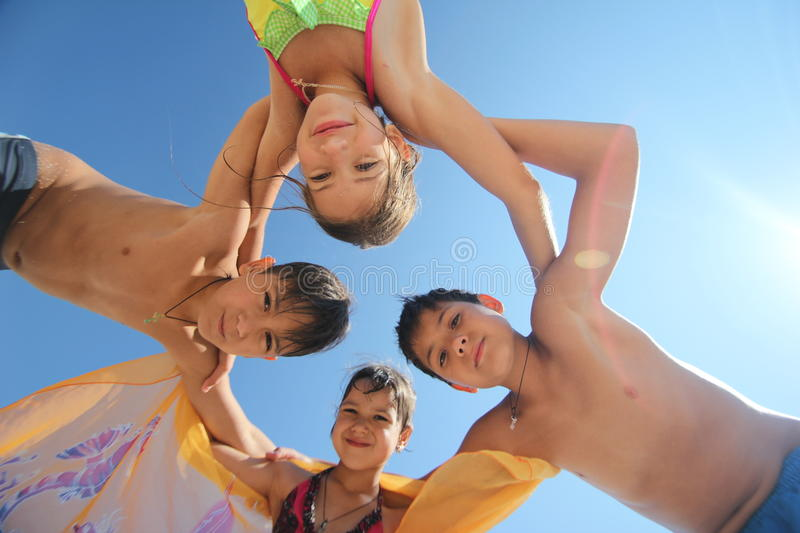 Download Happy kids stock photo. Image of happiness, friendship - 30137910