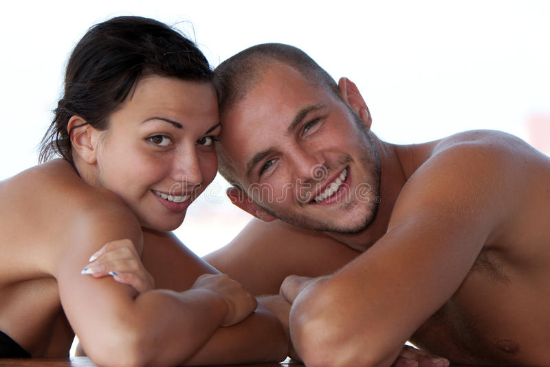 Download Portrait Of A Happy Young Couple Stock Photography - Image: 16587422