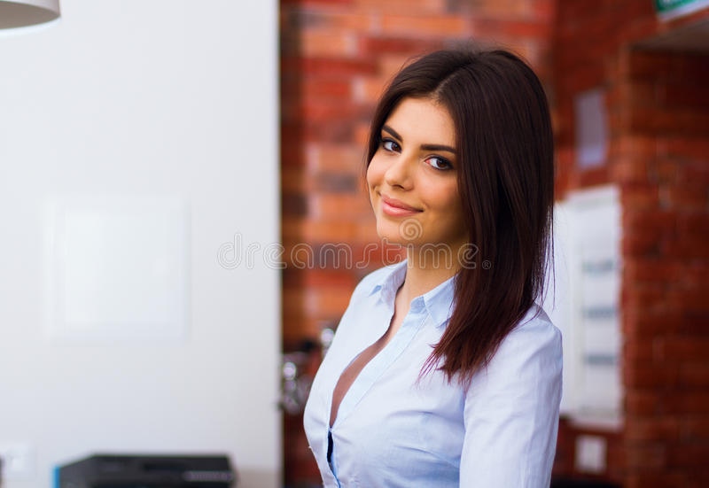 Download Portrait Of A Happy Young Woman Stock Image - Image: 31262231