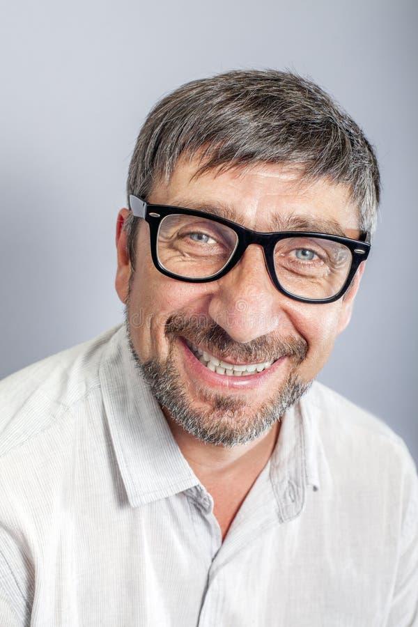 Portrait heureux d'homme photo libre de droits