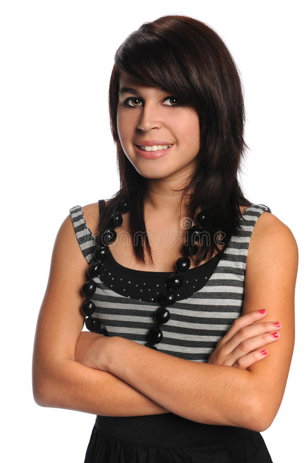 Download Portrait Of Hispanic Teenager Stock Image - Image: 22382417