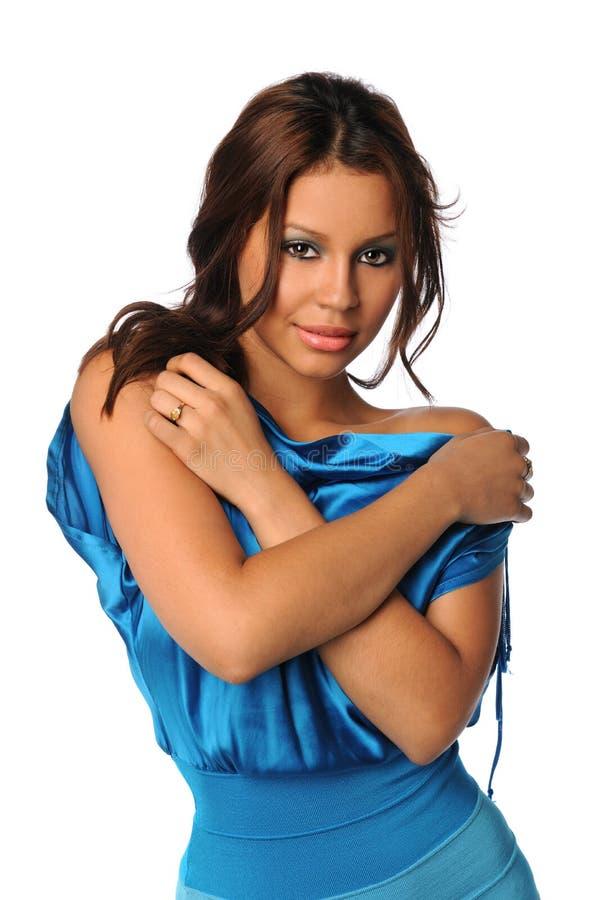 Portrait of Hispanic Woman stock photography