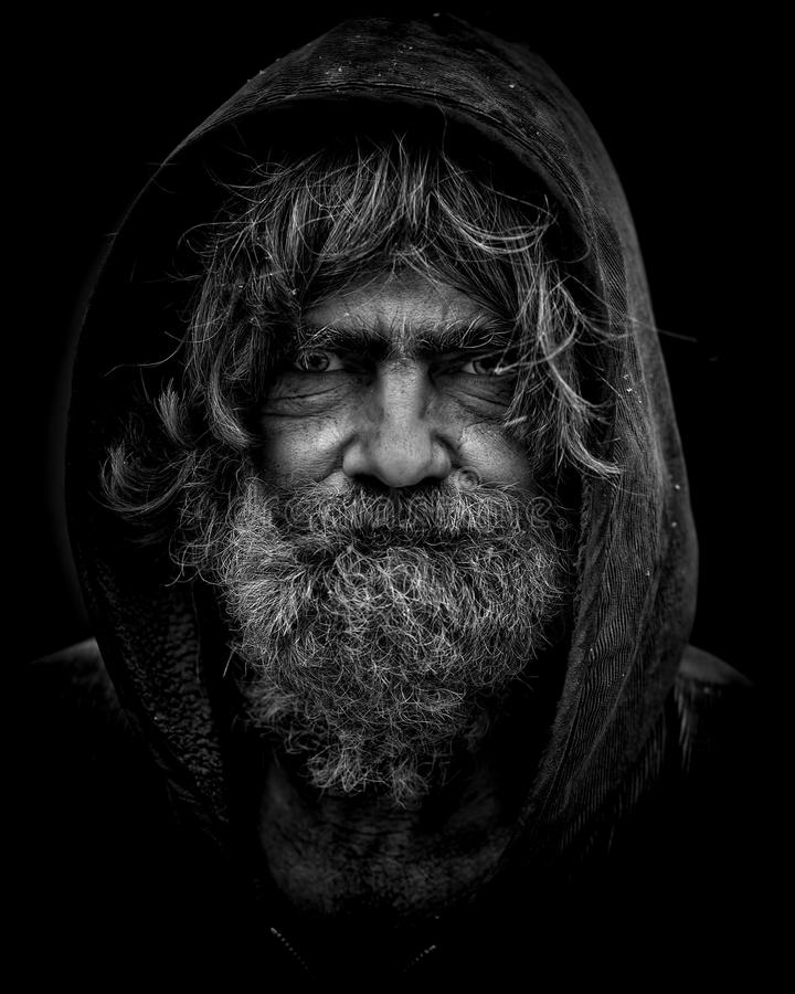 Portrait Of Homeless Man Free Public Domain Cc0 Image