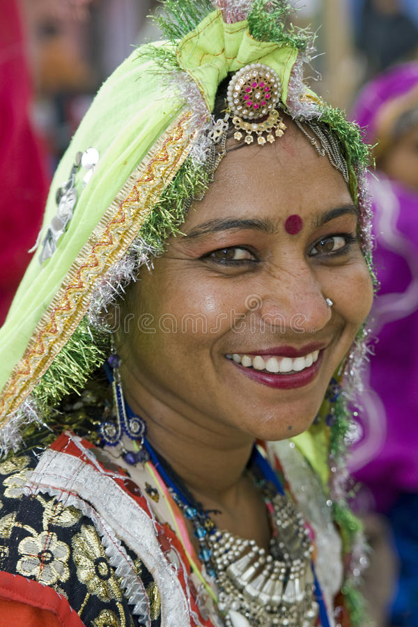Portrait of an Indian Dancer royalty free stock images