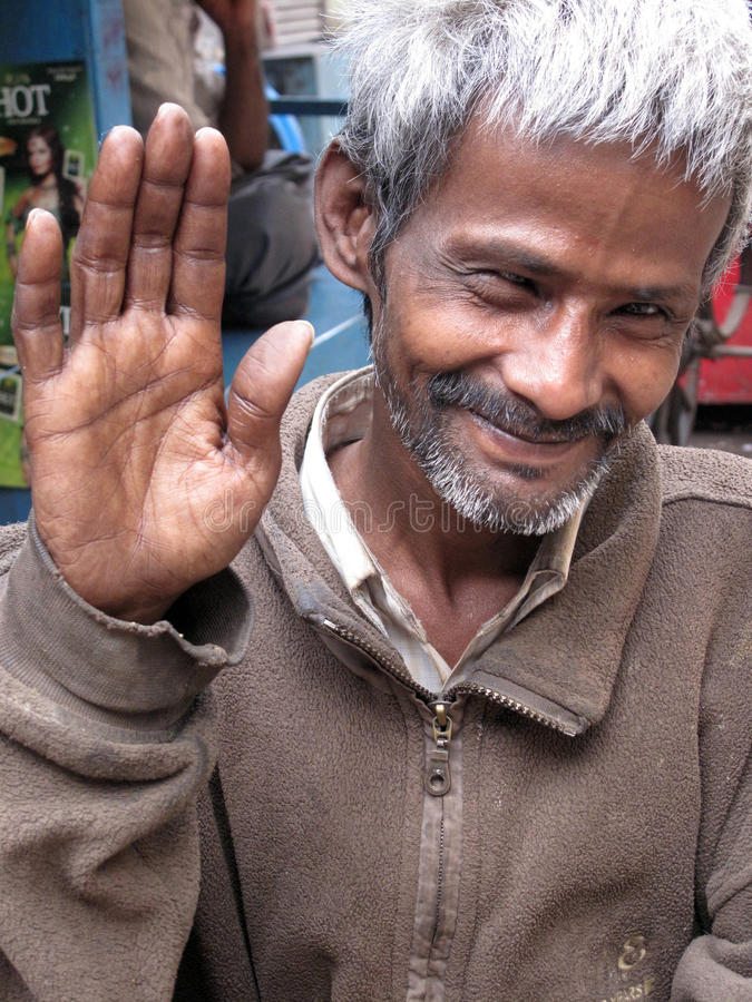 Portrait of Indian man royalty free stock image
