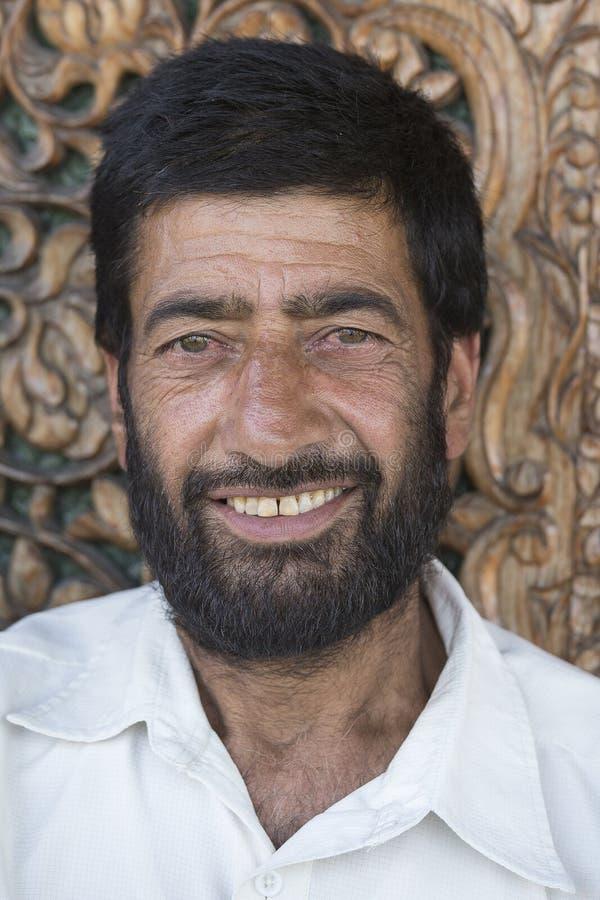 Portrait indian muslim man stock photography