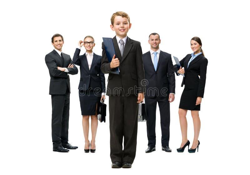 Portrait intégral du groupe de gens d'affaires photo stock
