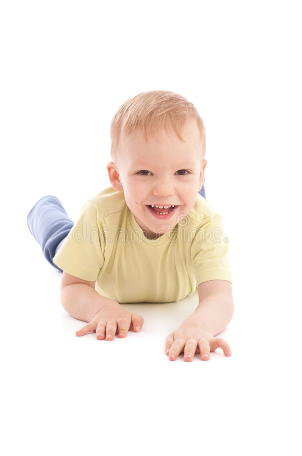 Download Portrait Of Joyful Blue-eyes Baby Stock Photo - Image: 8655888