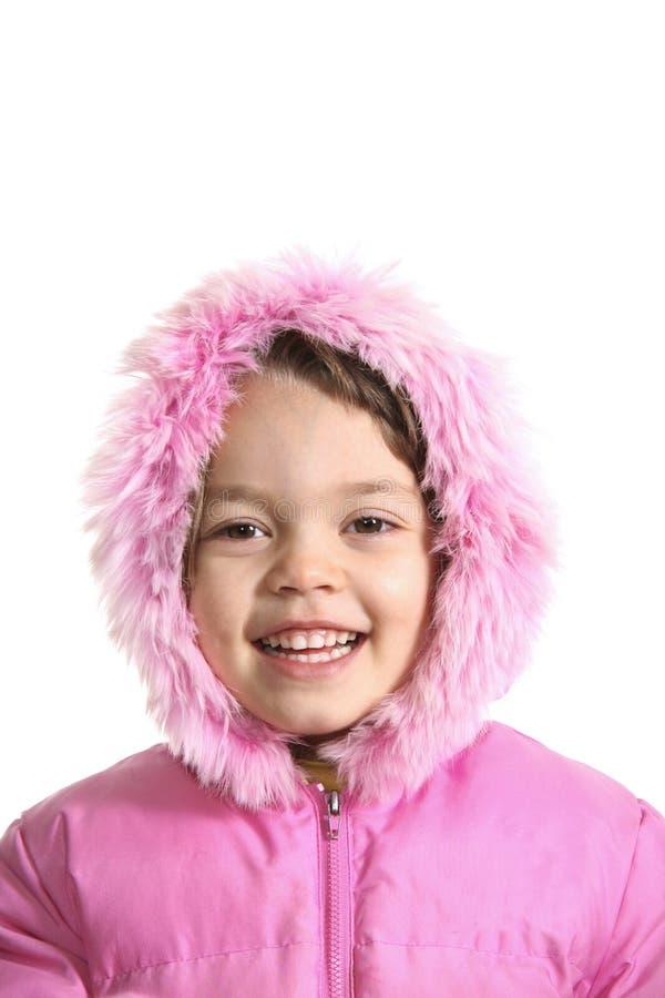 Download Portrait of joyful girl stock image. Image of background - 12088293