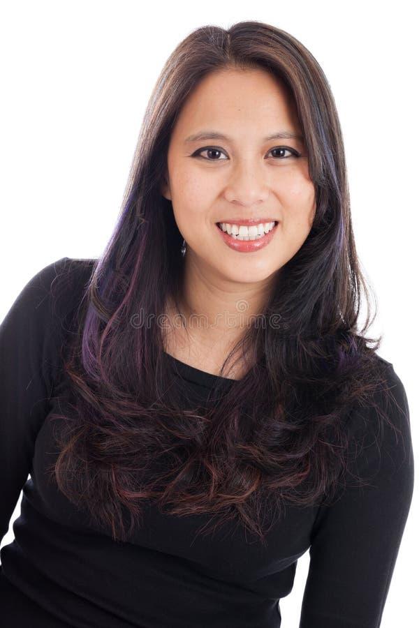 Asian woman portrait royalty free stock image