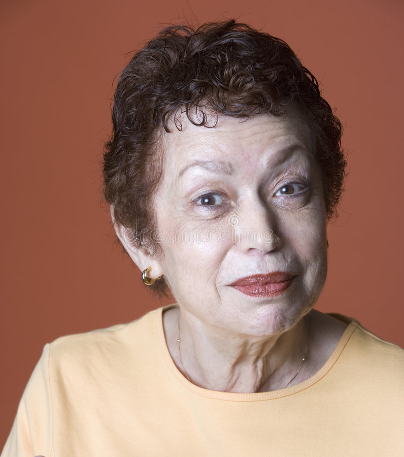Portrait of Latino woman stock images